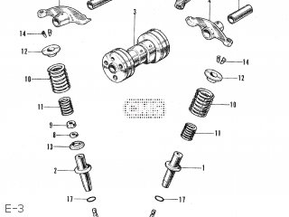 Honda CS50 JAPAN parts lists and schematics
