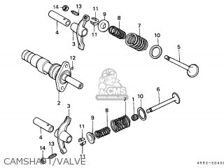 Honda Ct110 1993 (p) Australian Agric / Kph parts list