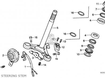 Honda Ct110 Hunter Cub 1980 (a) Canada / Kph parts list