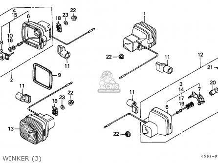Honda CT110 HUNTER CUB 1980 (A) GENERAL EXPORT / MPH parts