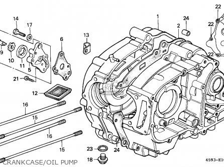 Honda Ct110 Hunter Cub 1980 South Africa / Kph parts list