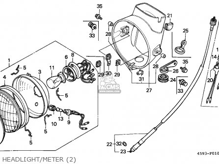 Honda Ct90 Carburetor Schematic Honda CL450 Carburetor