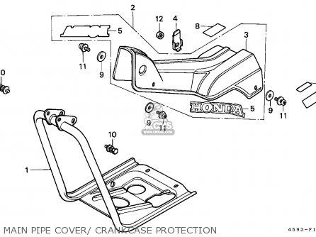 Honda CT110 HUNTER CUB 1986 (G) CANADA / KPH parts lists