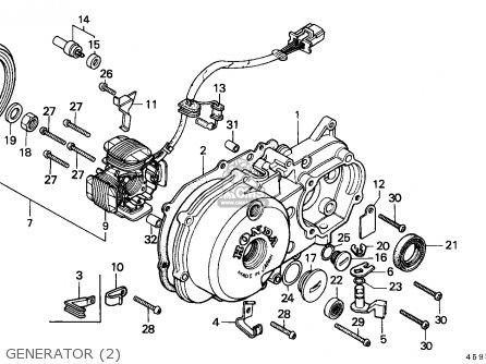 Honda CT110 HUNTER CUB 1986 (G) NEW ZEALAND / KPH MS parts