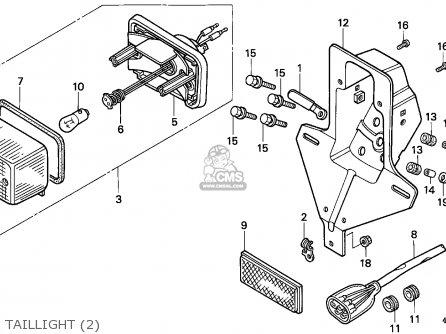 Honda Ct110 Hunter Cub 1993 (p) General Export / Kph parts