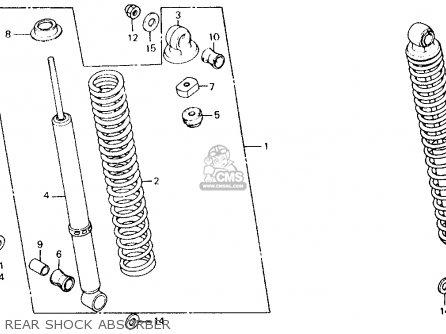 Honda CT110 TRAIL 1981 (B) USA parts lists and schematics