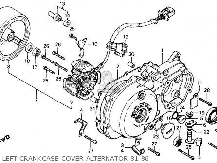 Honda Ct110 Trail 1982 (c) Usa Washington Police parts