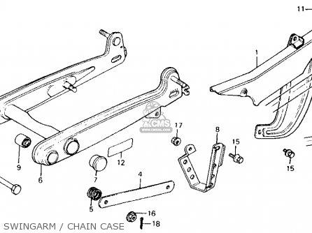 Honda Ct110 Trail 1986 (g) Usa California parts list