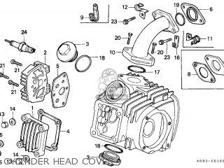 Honda CT110D CT110 1986 (G) NEW ZEALAND / CSW KPH parts