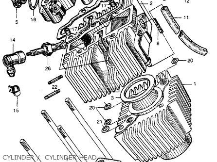 Honda CT200 TRAIL 1964 USA parts lists and schematics