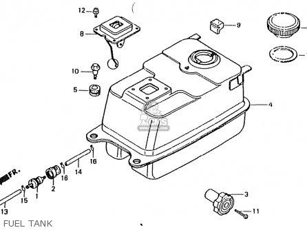 Honda Ct50jc (japan) Motra parts list partsmanual partsfiche