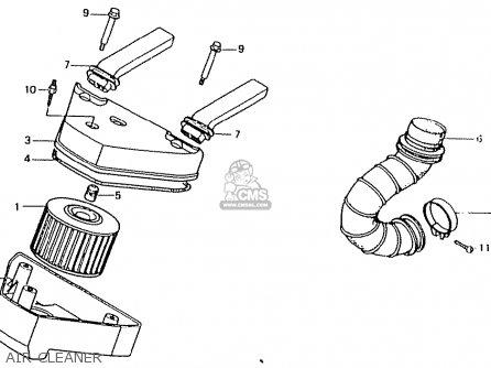 Honda CT50JC MOTRA JAPAN parts lists and schematics