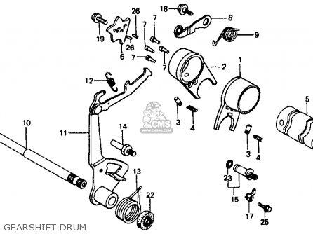 Honda Ct70 1993 (p) Usa parts list partsmanual partsfiche