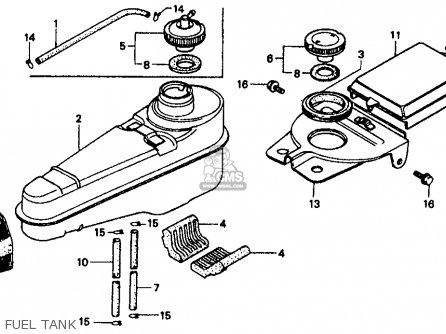 Honda CT70 TRAIL 1991 (M) USA parts lists and schematics
