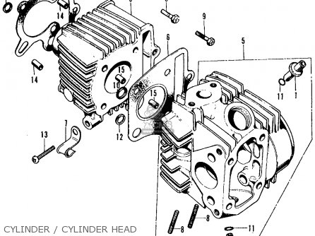 Honda Ct70 Transmission Diagram Honda GX160 Carb Clean