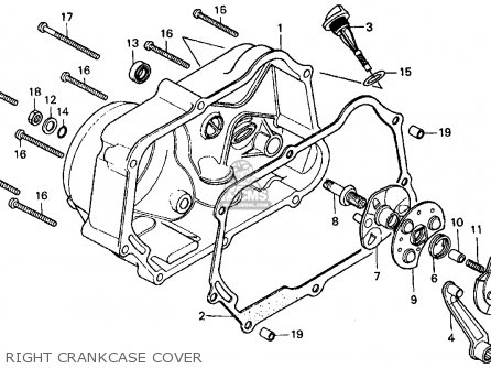 1976 honda ct70 wiring diagram mitsubishi canter headlight trail 70 usa parts lists and schematics