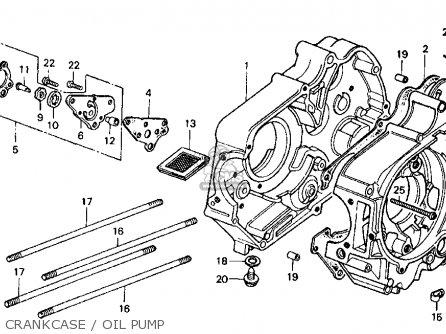 Honda Ct70 Trail 70 1978 Usa parts list partsmanual partsfiche