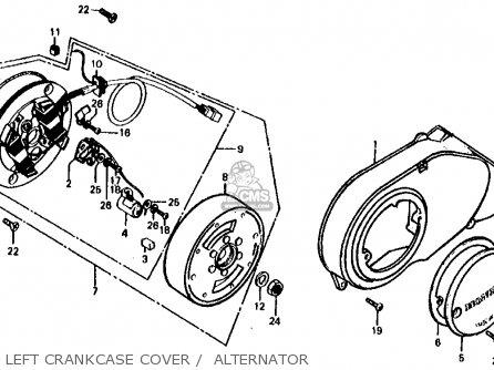 Honda CT70 TRAIL 70 1978 USA parts lists and schematics