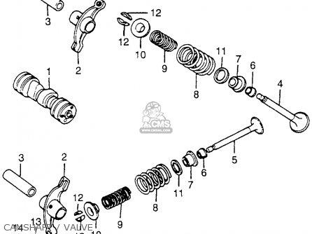 Honda Ct70 Trail 70 1981 Usa parts list partsmanual partsfiche