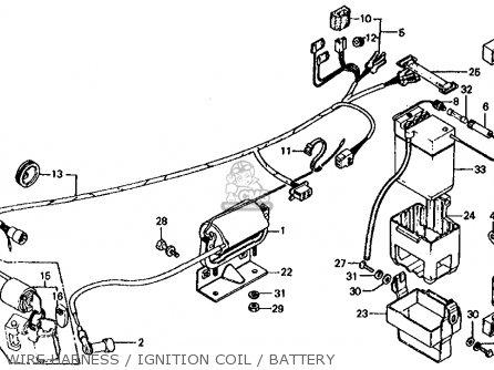 Honda Ct70 Trail 70 K3 1974 Usa parts list partsmanual
