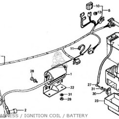 Honda Trail 70 Wiring Diagram Lighting Photocell Ct70 K4 1975 Usa Parts List Partsmanual Partsfiche
