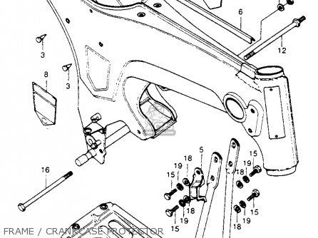 Honda Ct70h Trail 70h 1972 Ct70hk1 parts list partsmanual
