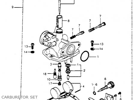 Honda Ct70h Trail 70h K1 1972 Usa parts list partsmanual