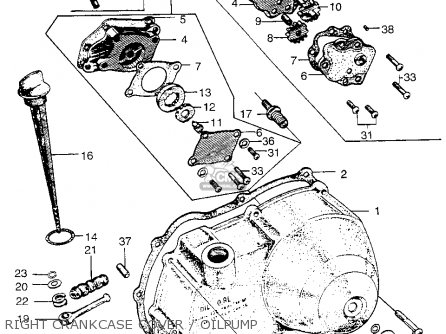 Honda Ct90 Trail 1966 K0 Usa parts list partsmanual partsfiche