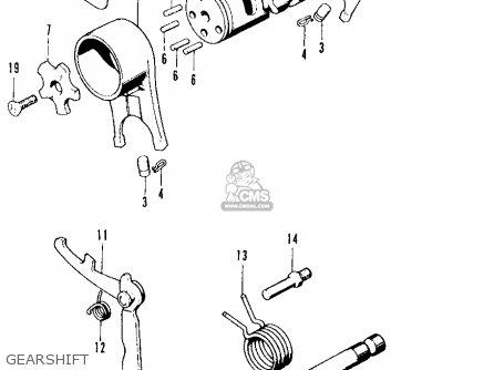 Honda Ct90 Trail 1971 K3 Usa parts list partsmanual partsfiche