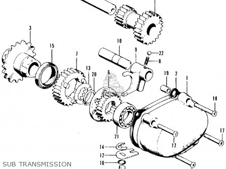 Honda Ct70 Engine Parts Diagram