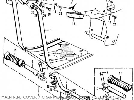 Honda CT90 TRAIL 1972 K4 USA parts lists and schematics