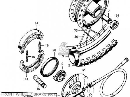 Honda Ct90 Trail 1974 Usa parts list partsmanual partsfiche