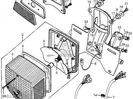 Honda CT90 TRAIL 1974 USA parts lists and schematics