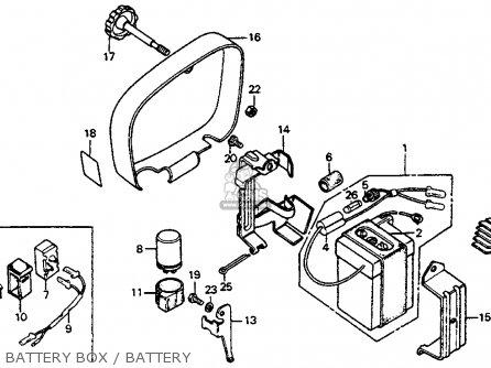 1969 Honda Trail 90 Wiring Schematic