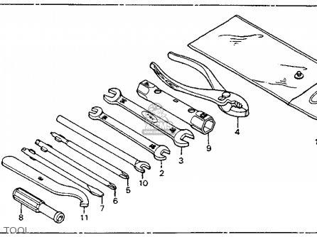 Honda CT90 TRAIL 1977 USA parts lists and schematics