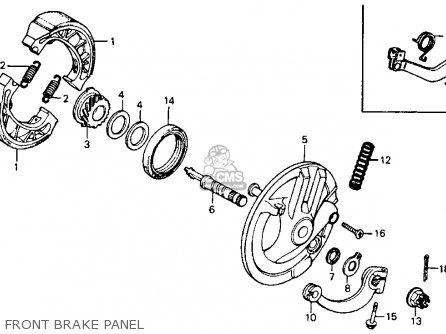 Honda Ct90 Trail 1978 Usa parts list partsmanual partsfiche