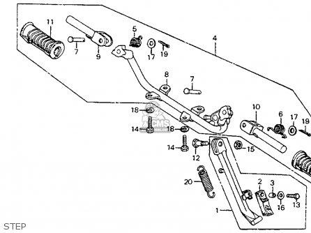 Honda CT90 TRAIL 1979 (Z) USA parts lists and schematics