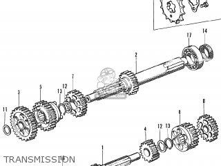 Honda Ct90 Trail 90 K0 (general Export) parts list