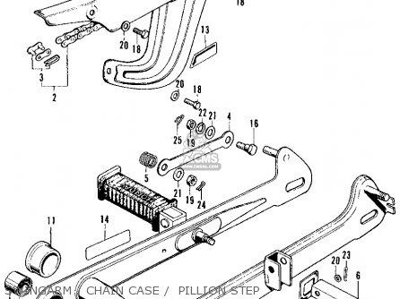 Honda ct90 valve chain