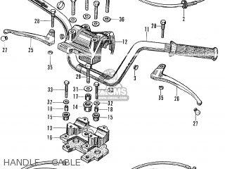 Honda CT90 TRAIL K0 GENERAL EXPORT parts lists and schematics