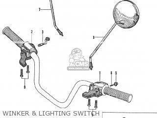 Honda Ct90 Trail K0 General Export parts list partsmanual