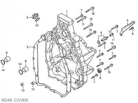 Honda Cx500 1978 Australia parts list partsmanual partsfiche