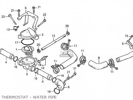 Honda CX500 1978 CANADA parts lists and schematics