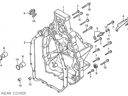 Honda CX500 1978 ENGLAND parts lists and schematics