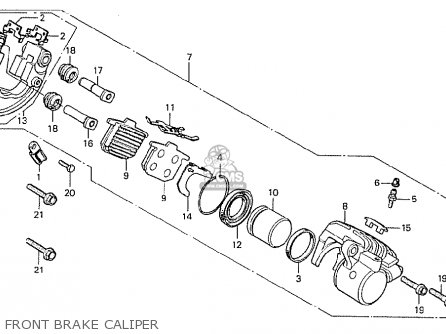 Honda Cx500 1978 General Export Kph parts list partsmanual