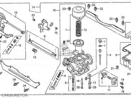 Honda Cx500 1978 Germany 27ps Type parts list partsmanual
