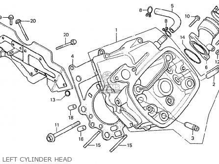 Honda Cx500 1978 Germany Full Power Version parts list