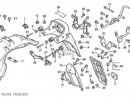 1985 Honda Vt500 Wiring Diagram. 1985. Wiring Diagram