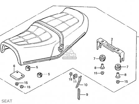 Honda CX500 1978 GERMANY FULL POWER VERSION parts lists