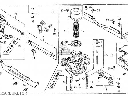 Honda Cx500 1978 Italy parts list partsmanual partsfiche